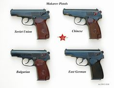 Пистолети Макаров / Makarov pistols -- the only four TRUE Makarov's - Rgrips.com