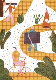 다음 @Behance 프로젝트 확인: \u201cIllustrations September `16\u201d https://www.behance.net/gallery/43626455/Illustrations-September-16