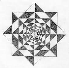 Resultado de imagen para dibujos con figuras geometricas dificiles