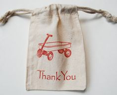Red+Wagon+Muslin+Bags+/+Set+of+10/+Birthday+by+littlechicklets