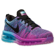 Women's Nike Flyknit Air Max Running Shoes| Finish Line | Fuchsia Flash/Black/Clearwater : LOVE THESE, GONNA INVEST FOR 2015 WORKOUTS