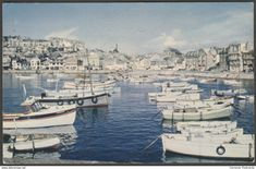 St Ives Harbour, Cornwall, 1958 - Photochrom Postcard