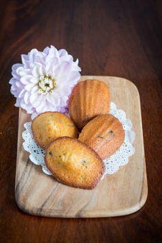 Food: Eleven Delicious Madeleine Recipes  (Perfect with tea: Cranberry caramel madeleines. Via Yue's Handicrafts)