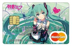 Sumitomo To Issue Hatsune Miku MasterCards by Mike Ferreira