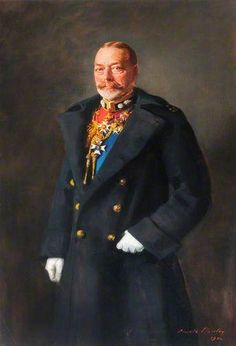 George V in Ceremonial Dress of Colonel in Chief of the RWF.