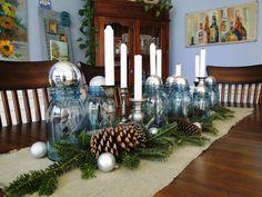 mason jars | Christmas Mason Jars | Button Bird Designs