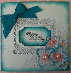Sue Wilson birthday card Www.facebook.com/kraftykath
