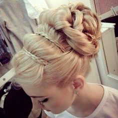 Wrapped Braided Updo