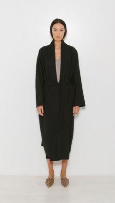Nili Lotan Laight Coat in Black | The Dreslyn