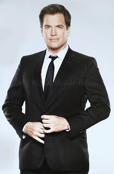 A promo pic of Michael Weatherly as Special Agent Tony DiNozzo from NCIS