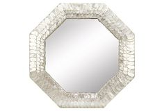 Capiz Hexagon Mirror on OneKingsLane.com