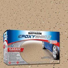 Tan Garage Floor Epoxy 2 Pack