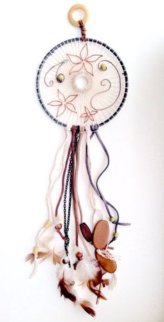 SALE Unique Handmade Dreamcatcher by HandmadePaperBeauty on Etsy