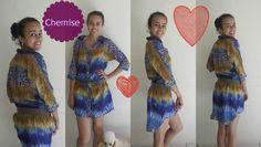 Costurando uma chemise PARTE 2 com Alana Santos Blogger (+playlist)