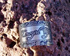 Cowgirl up cuff bracelet