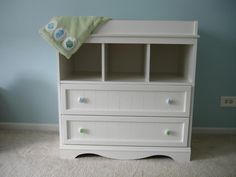 White Changing Table Dresser Combo - Home Furniture Design White Changing Table Dresser, Best Changing Table, Large Dresser, Adams Furniture, Stanley Furniture, Home Furniture, Furniture Design, Best Dresser, Dresser Ideas