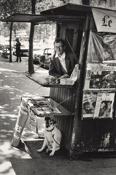Paris - 1957 by Elliott Erwitt