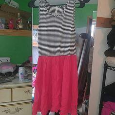 Cute summer dress orange/black/white Chocolate USA dress chocolate usa  Dresses Mini