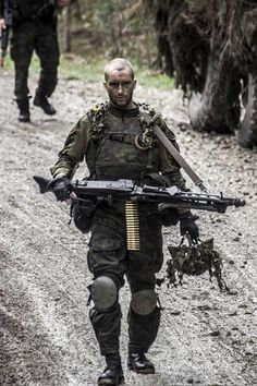 A Warriors spirit comes from within (Estonian Army)