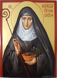 Hildegard Von Bingen was a nun in the 12th century who spoke out for women's rights and even preached and taught which had been forbidden for women to do by the Church at that time.