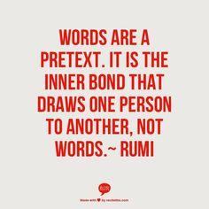 Rumi -  I so get this!