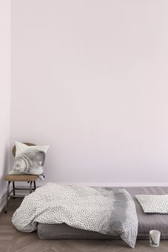 New smiling seal photo print cushion and snowflake bedlinen. www.bynord.com
