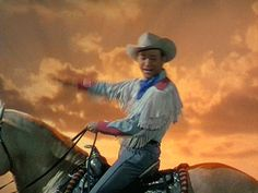 When I die, just skin me out and put me up on old Trigger and I'll be happy. —Roy Rogers  (November 5, 1911 – July 6, 1998)