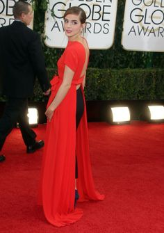 Golden Globes 2014  Emma Watson + Dior = GORGEOUS