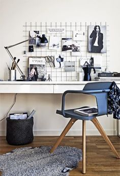 the perfect work space styled by Marie Ramse & Pella Hedeby, scandinavian…