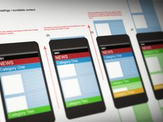 Dribbble - Mobile Interaction Patterns by Stuart Bayston