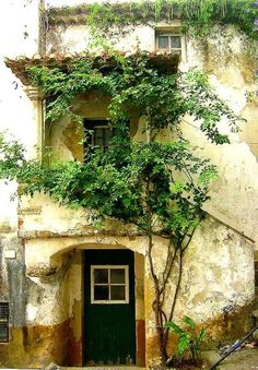 Old house in Obidos - Portugal