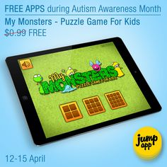 My Monsters - Puzzle Game For Kids for #iPhone and #iPad is #free for a limited time! https://itunes.apple.com/us/app/my-monsters-puzzle-game-for/id665801975