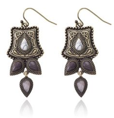SAMANTHA WILLS - NOTRE DAME EARRINGS - GOLD
