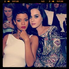 BFF's Rihanna and Katy Perry  Video Music Awards 2012