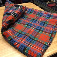 A STUNNING HAND CRAFTED KILT MADE EXACTLY TO YOUR SPECIFICATION This tartan is woven at...