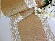 Burlap And Lace Wedding Table Runners Best Ideas Burlap and lace ...