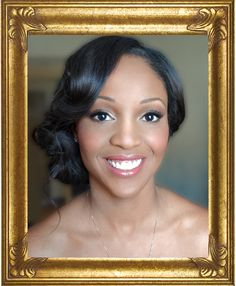 images of african american brides makeup | bridal makeup for African American, wedding makeup for blacks