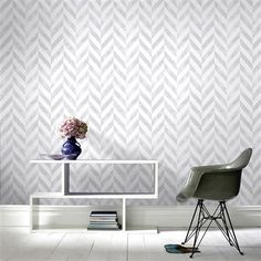 Superfresco Easy Symmetry Italie Wallpaper, Silver | ACHICA