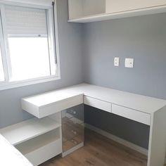 Tiny Bedroom Design, Small Room Design, Home Room Design, Home Office Design, Home Office Decor, Study Room Decor, Cute Room Decor, Room Ideas Bedroom, Small Room Bedroom