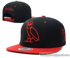 OVOXO Snapback Black Red|only US$8.90,please follow me to pick up couopons.