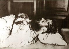 Grigory Rasputin. Photo from the morgue.
