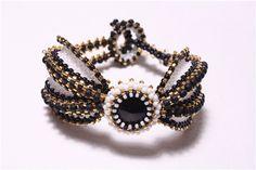Gothic butterfly bracelet   biser.info - всё о бисере и бисерном творчестве