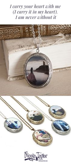 Locket Necklaces from Nicola Taylor Photographer | Fine Art Photography