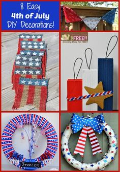 8 Easy 4th Of July DIY Decorations