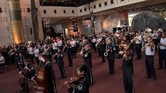 The USAF Band Holiday Flash Mob at the National Air and Space Museum 2013 - beautiful music.