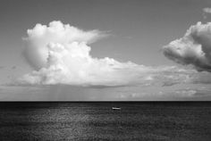 Cloud fisher  #fisher #sea #boat #clouds #fishing #blackandwhite #photography #meer #fischer #boot #fischerboot #fischen University Of Applied Sciences, Projekt Manager, Remo, Photoshop, Fisher, Creative, Boat, Clouds, Photography