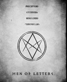 men of letters supernatural | supernatural dean winchester sam winchester spn henry winchester Men ...