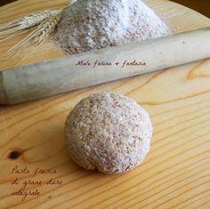 Pasta fresca di grano duro integrale