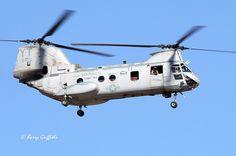 "Boeing Vertol CH-46 Sea Knight USMC BuNo 156420 HMMT-164 ""Knightriders"" YT-11 MCAS Camp Pendleton, CA"