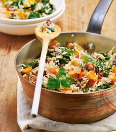 Orientalische Reispfanne